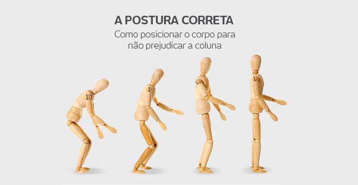 Como corrigir a má postura nas atividades do dia a dia: A postura correta