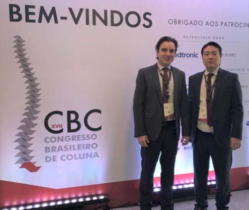Participação no XVII Congresso Brasileiro De Coluna
